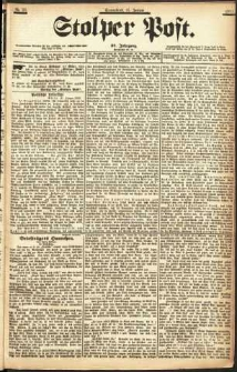 Stolper Post Nr. 26/1903