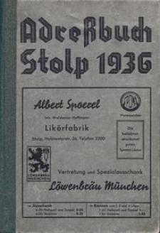 Adreßbuch Stolp 1936