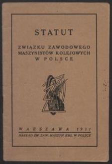 Statut Związku Zawodowego Maszynistów Kolejowych w Polsce