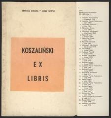 Koszaliński Ex Libris