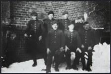 Grupa jeńców wojennych w Stalagu I A - Stablack, okręg Królewiec