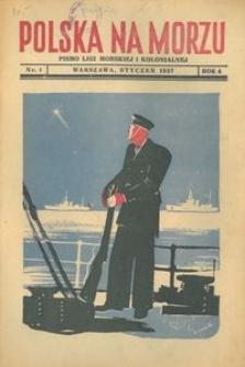 Polska na Morzu, 1937, nr 1