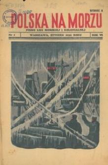 Polska na Morzu, 1939, nr 1, wydanie A