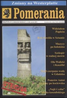 Pomerania : miesięcznik regionalny, 2007, nr 6
