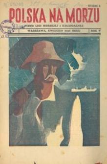 Polska na Morzu, 1938, nr 4, wydanie A