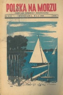 Polska na Morzu, 1936, nr 5