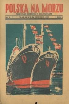 Polska na Morzu, 1936, nr 6