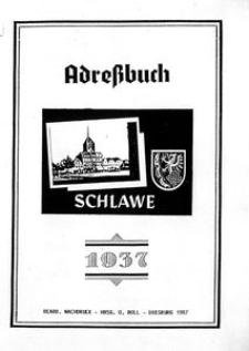 Adreβbuch Slawer 1937