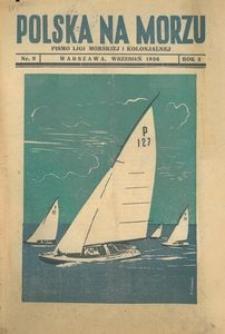 Polska na Morzu, 1936, nr 9