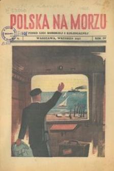 Polska na Morzu, 1937, nr 9