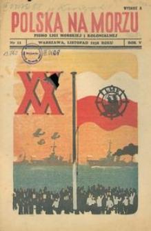 Polska na Morzu, 1938, nr 11, wydanie A