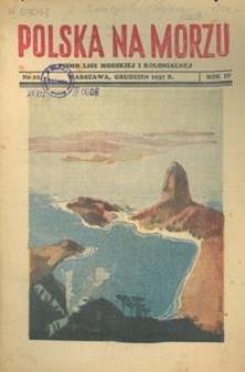 Polska na Morzu, 1937, nr 12