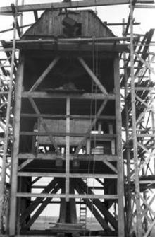 Wiatrak w budowie - Jeżewnica [2]