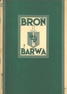 Broń i Barwa, 1934, nr 3