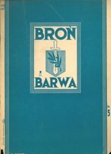 Broń i Barwa, 1934, nr 5