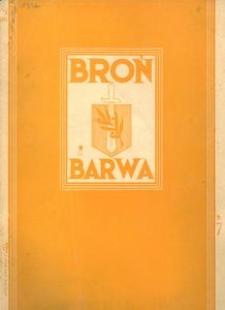 Broń i Barwa, 1934, nr 7
