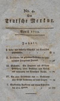 Der Deutsche Merkur No. 4