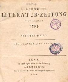 Allgemeine Literatur-Zeitung 1794, T. 3