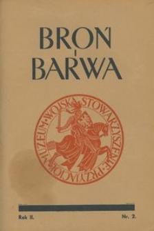 Broń i Barwa, 1935, nr 2