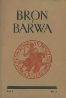 Broń i Barwa, 1935, nr 3