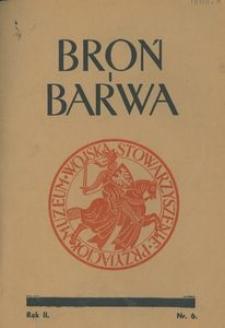 Broń i Barwa, 1935, nr 6