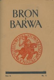 Broń i Barwa, 1935, nr 7