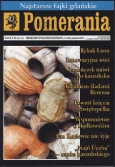 Pomerania : miesięcznik regionalny, 2007, nr 10