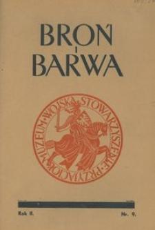 Broń i Barwa, 1935, nr 9