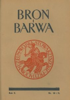 Broń i Barwa, 1935, nr 10/11