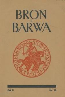 Broń i Barwa, 1935, nr 12