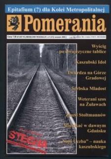 Pomerania : miesięcznik regionalny, 2008, nr 9