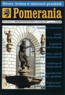 Pomerania : miesięcznik regionalny, 2008, nr 11
