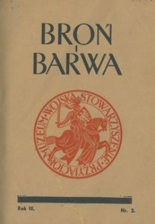 Broń i Barwa, 1936, nr 3
