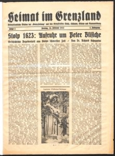 Heimat im Grenzland Nr. 1/1937