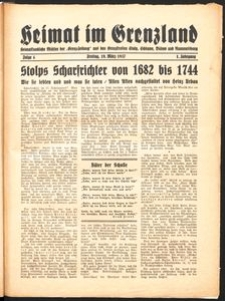 Heimat im Grenzland Nr. 4/1937