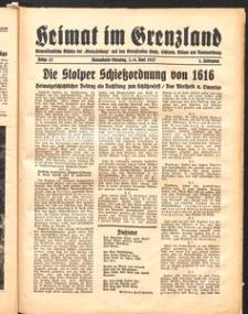 Heimat im Grenzland Nr. 13/1937