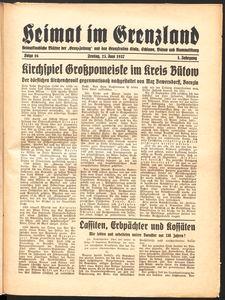 Heimat im Grenzland Nr. 16/1937