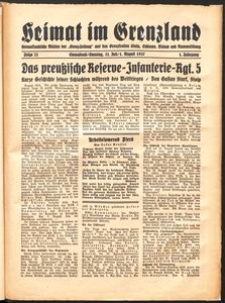 Heimat im Grenzland Nr. 21/1937