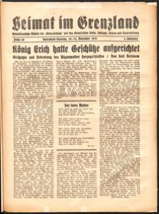Heimat im Grenzland Nr. 30/1937