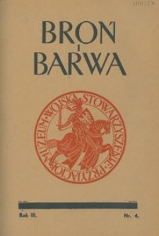 Broń i Barwa, 1936, nr 4