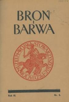 Broń i Barwa, 1936, nr 5