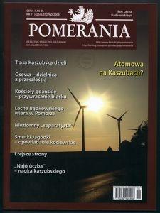 Pomerania : miesięcznik społeczno-kulturalny, 2009, nr 11