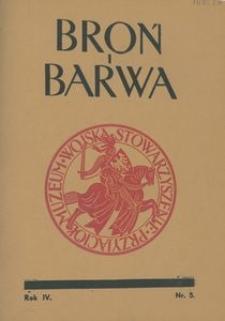 Broń i Barwa, 1937, nr 5