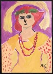 Kopia portretu Zofii Schroeder S. I. Witkiewicza, 1931