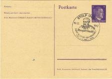 Postkarte. Hitler, Adolf