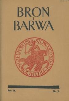 Broń i Barwa, 1937, nr 9