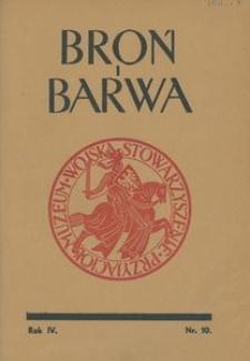 Broń i Barwa, 1937, nr 10