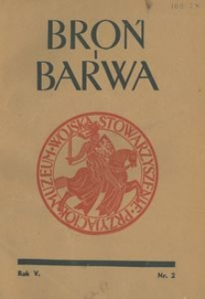 Broń i Barwa, 1938, nr 2