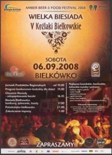 [Plakat] : Wielka Biesiada V Koźlaki Bielkowskie
