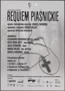 [Plakat] : Reqiem Piaśnickie